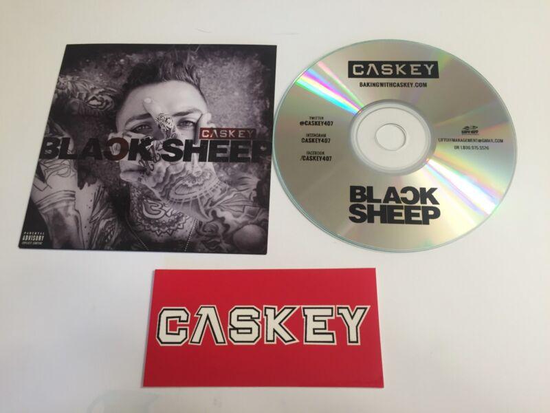 CASKEY CD BLACK SHEEP Original Album YMCMB w/ Sticker