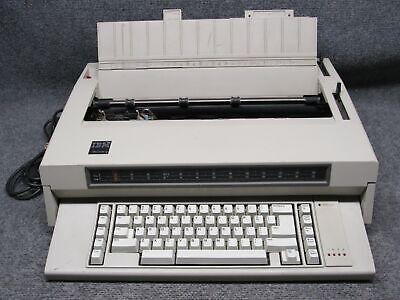 Vintage Ibm Wheelwriter 3 Electronic Typewriterword Processor 1984 Working