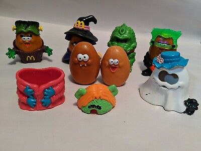Lot of 6 Assorted McDonald's Happy Meal Halloween Costume McNugget Toys](Happy Meal Halloween Costume)