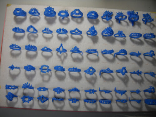 1572# Jewelry Wax patterns rings wax ring clusters for diamonds wax ring lot