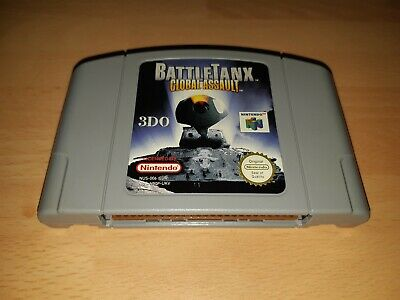 BattleTanx Global Assault - N64 - PAL - Cartridge Only - VGC - WORKING
