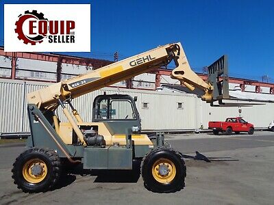 2008 Gehl Rs634 6000lb Telescopic Boom 4x4 Diesel Forklift 34 Ft Height