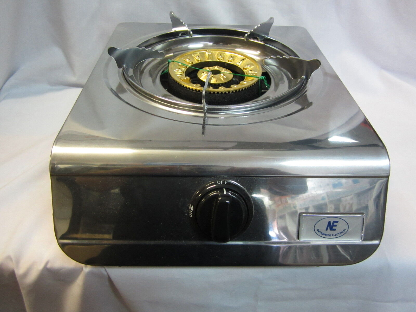 19MJ Lux Portable Gas Stove Wok Burner LPG Cook top safety ...