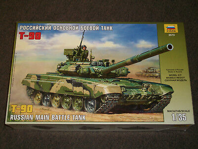 Zvezda 1/35 Scale T-90, Russian Main Battle Tank  for sale  New Orleans