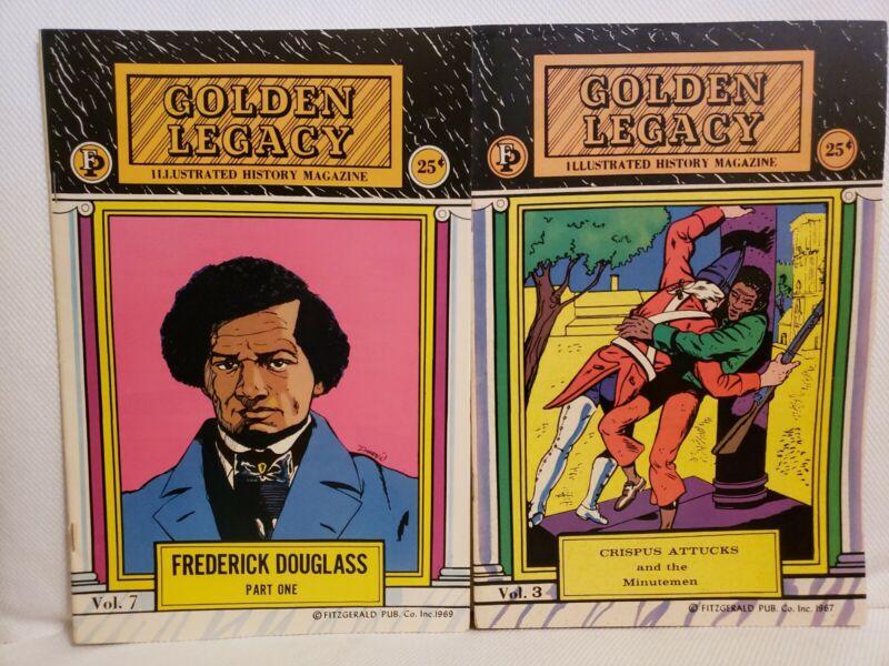 Golden Legacy Illustrated Black History 3 7 Fredrick Douglas Crispus Attucks BLM