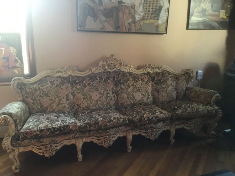 Gorgeous Versailles Velvet Couch .
