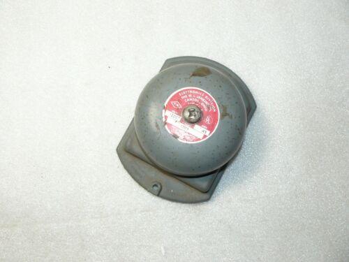 """W.L. Jenkins 1203-1 4 1/4"""" 12V DC Bell .45 Amp Works"""
