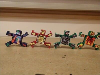 HASBRO 2002 NAK NAK - NAKNAK LOT OF 4 FIGURES with case - PRE-OWNED for sale  Brewster