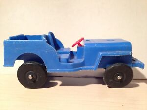 Vintage plastic Willy Jeep toy car