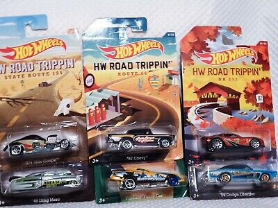 2014 Hot Wheels Road Trippin' Collection - '09 Corvette ZR1 + 5 Cars - VHTF
