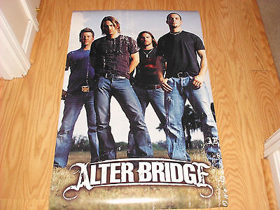 RARE ALTER BRIDGE POSTER  ROLLED AND FACTORY SEALED NEW 22x34 FREE SHIPPING