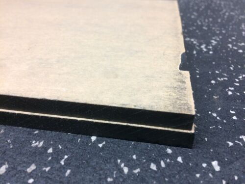 """ACRYL plate 0.375"""" thick x 8.75"""" wide x 20 1/16"""" long"""