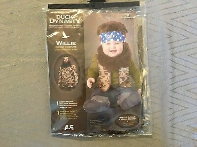 In Character Duck Dynasty Willie Infant Baby Halloween Costume, 6-12 months (Infant Halloween Duck Costume)