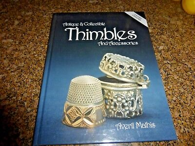 ANTIQUE & COLLECTIBLE THIMBLES & ACCESSORIES  & ZALKIN'S HANDBOOK OF THIMBLES