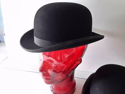 RIDING HUNTING BOWLER HAT
