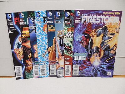 Firestorm DC New 52 Comic Books 11-18 Dan Jurgens Karl Kesel Teen Titans Robin