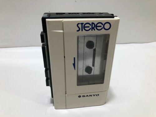 Sanyo M-4430 Stereo Cassette Player Vintage Walkman