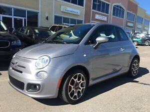 2015 Fiat 500. Accident Free. Financing Available.
