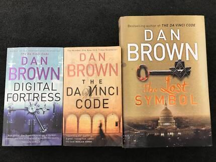 Dan Brown Novels x 3