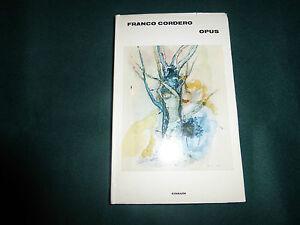 FRANCO-CORDERO-OPUS-EINAUDI-1-EDIZIONE-1972-PAGG-191