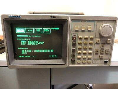 Tektronix 1240 Logic Analyzer Portable Laboratory Unit