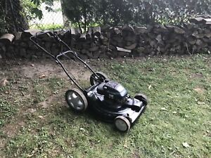 Craftsman lawnmower. All tuned up and ready to go.