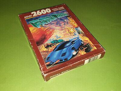 Fatal Run Boxed Atari 2600 VCS Game Cartridge - Atari CX26162