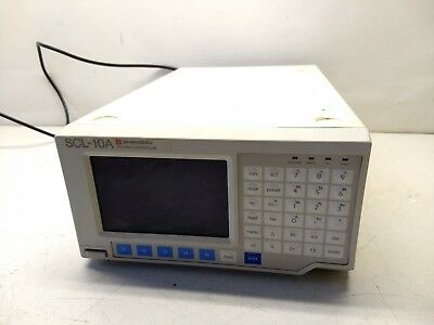 Shimadzu Scl-10a Hplc System Controller