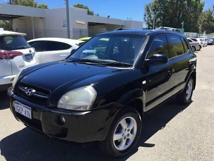 2007 Hyundai Tucson SX City Manual Wagon $5999 Beckenham Gosnells Area Preview