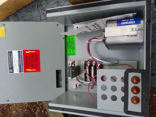 SQUARE D PFC4002BFI3 POWER FACTOR CORRECTION CAPACITOR 2.5 KVAR 480V 1391,1392