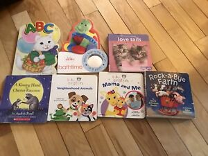 Lot of baby books