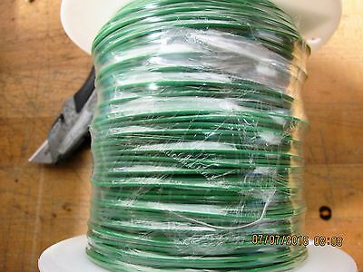 - 500' AWG-16 Green Stranded One Conductor 600 Volt Military  Hook -Up Wire [BB32]