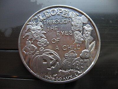 mickey mouse power ranger ninja turtle pumpkin 1997 Mardi Gras Doubloon Coin](Ninja Turtle Pumpkin)
