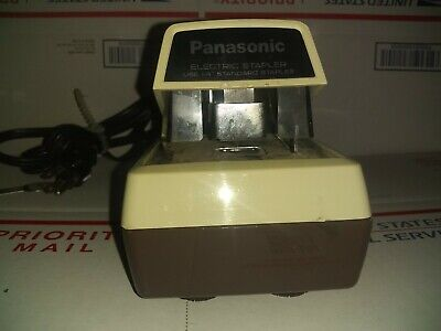 Panasonic Commercial As-300 Electric Stapler Tested