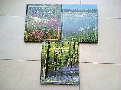 La nature en Belgique. 3 volumes. Artis Historia. 1997/98/99
