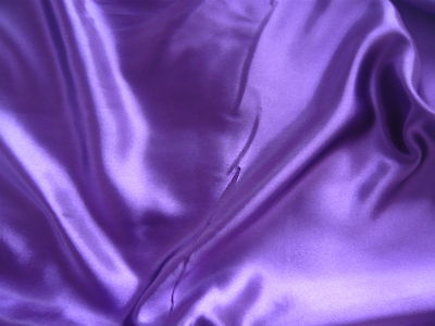 Shiny Satin Fabric/Material - Range of Colours - FREE UK P&P