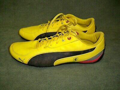 Puma Yellow Ferrari Sneaker Motorsport Shoes - Men's Size 10.5