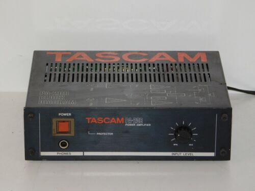 Vtg Tascam Teac PA-20B Power Amplifier Stereo Mono Studio Monitor Speaker Amp