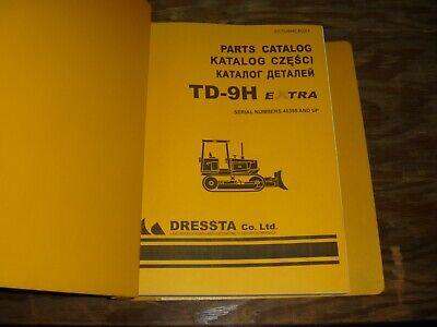 Komatsu Dresser Td-9h Extra Crawler Tractor Dozer Bulldozer Parts Catalog Manual