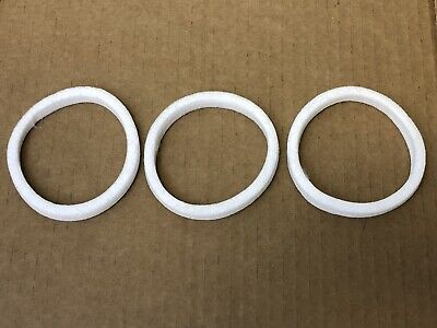 Hydramaster Rx-20 Gaskets For Carpet Cleaning Rotary Extractor Set Of 3 057-047