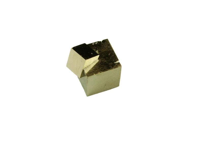 Navajun Spain Mine - Pyrite Cube Crystal With Display Case-#PC17