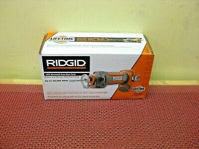 New In Box Ridgid 18-volt Drywall Cut-out Tool R84730b 28000 Rpm Sealed