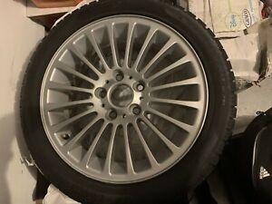 Set of 4 BMW original Pirelli Winter Tires + rims