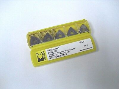 Wnmg 432rp Kc5510 Kennametal Insert 10pcs Genuine