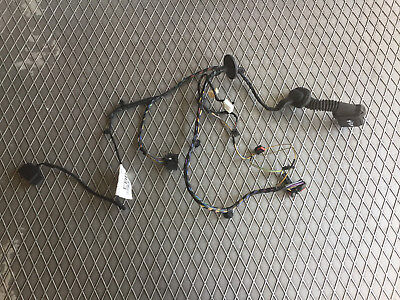 FORD S-MAX ZETEC 2.0 TDCI 2008 N/S/R PASSENGER SIDE REAR DOOR WIRING LOOM