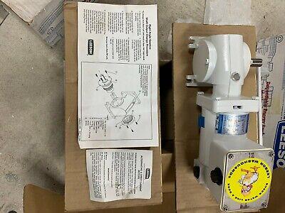Leeson Cm31d25vz3b 18hp 90v 2.2a Permanent Magnet D.c. Gearmotor Cat. M1125275