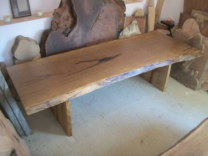 Tallowwood hardwood timber slab dining table - NEW - 2.6 mtr