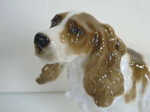 RARE ART DECO HUTSCHENREUTHER-ROSENTHAL COCKER SPANIEL DOG PORCELAIN FIGURINE