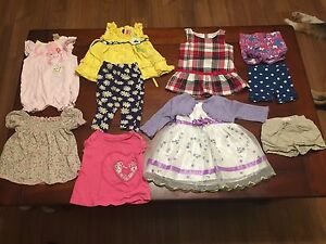 Baby Girl Clothes (Size 6-9 month)