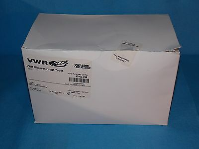 Vwr Microcentrifuge Tubes 2.0ml 87003-298 Qty 383
